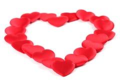 сердце confetti Стоковое фото RF