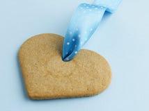 Сердце Gingerbread Стоковые Изображения