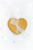 сердце gingerbread Стоковая Фотография RF
