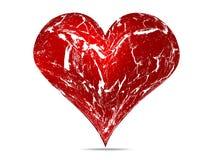 сердце grunge Стоковые Фотографии RF