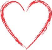 сердце grunge бесплатная иллюстрация