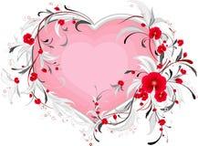 сердце loral Стоковое Изображение