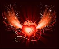 сердце phoenix Стоковое Фото