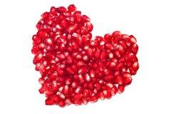 Сердце Pomegranate Стоковые Изображения RF