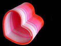 сердце slinky Стоковые Фото