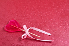 Сердц-форменная конфета Стоковое Изображение RF