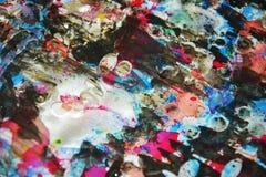 Серебристые темные waxy запачканные цвета, контрасты, waxy творческая предпосылка стоковые фото