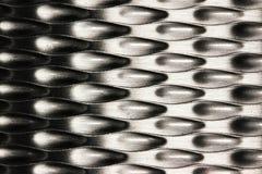 Серебряная абстрактная предпосылка Стоковые Фотографии RF