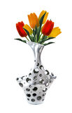 Серебряная ваза стоковые изображения rf