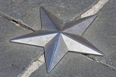 Серебряная звезда стоковые фото