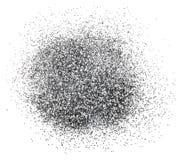 Серебряная искра яркого блеска Стоковое Фото