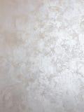 Серебряная краска на стене Стоковые Фото