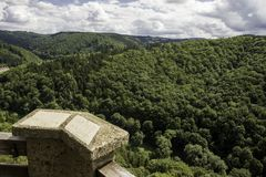 Серебряная крепость горы Стоковое Фото
