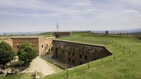 Серебряная крепость горы Стоковая Фотография RF