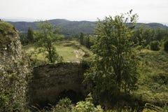 Серебряная крепость горы Стоковое Изображение RF