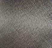 Серебряная металлическая текстура ткани стоковое изображение rf
