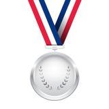 Серебряная медаль Стоковое Изображение RF