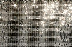Серебряная мозаика предпосылки Стоковые Изображения RF
