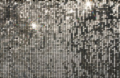 Серебряная мозаика предпосылки Стоковое фото RF