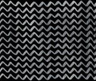 Серебряная нарисованная рука stripes предпосылка, шеврон Стоковое Изображение RF
