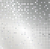 Серебряная предпосылка конспекта мозаики Стоковые Изображения RF