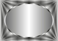 Серебряная предпосылка Стоковые Фотографии RF