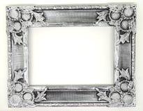 серебряная рамка фото Стоковые Фото