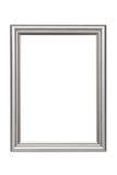 Серебряная рамка Стоковое фото RF