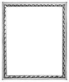 Серебряная рамка Стоковые Фото
