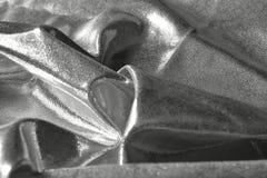 Серебряная сияющая предпосылка стоковое изображение