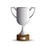 Серебряная чашка победителей Стоковая Фотография RF