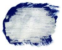 Серебряное голубое акриловое знамя Стоковые Изображения RF
