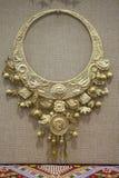 Серебряное ожерелье Стоковое фото RF