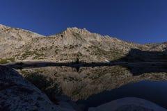 Серебряное озеро пропуск Стоковая Фотография RF