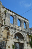 Серебряное разделение дворца diocleziano двери (Srebrna Vrata) Стоковые Фото