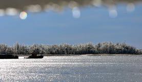 Серебряное река Стоковые Изображения RF