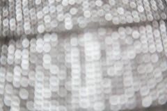 серебряное bokeh рождества стоковая фотография