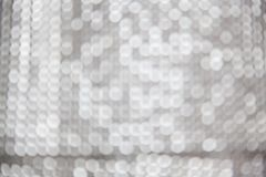 серебряное bokeh рождества стоковое фото rf