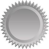 серебряное starburst Стоковое Фото