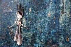 Серебряные вилки стоковое изображение rf