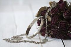 Серебряные драгоценности Стоковое Изображение