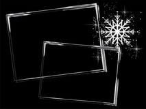 Серебряные рамки стоковое фото rf