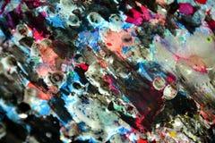 Серебряные темные розовые цвета, контрасты, waxy творческая предпосылка стоковые изображения rf