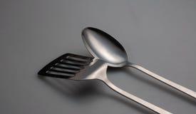 Серебряные утвари Стоковое Изображение