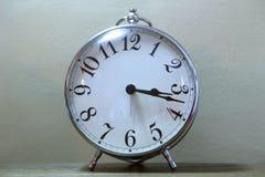 Серебряные часы Стоковые Изображения