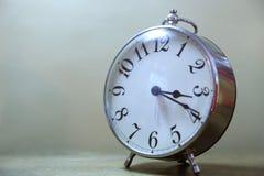 Серебряные часы Стоковое Фото
