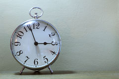 Серебряные часы Стоковая Фотография RF