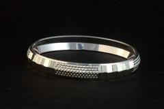 серебряные bangles и Gents Kade & x28; Диапазон руки & x29; Стоковое Изображение