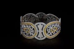 Серебряные bangles и kada Gents & x28; Диапазон & x29; Стоковое Фото