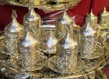 Серебряный комплект бака чая Стоковое Изображение RF